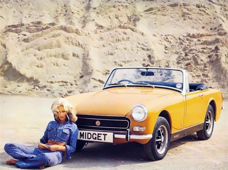 Auto aziendali nel 2021: meno benzina e Diesel, più ibridi - image MG-Midget on http://auto.motori.net