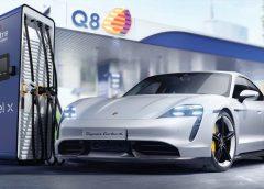Porsche Italia, Q8 e Enel X per la ricarica ultrafast