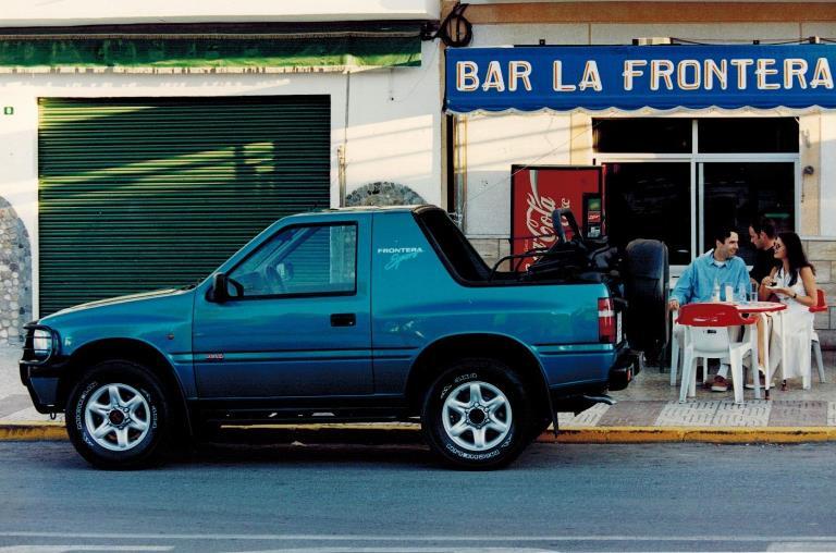 Nuovo filtro dell'aria Honda anti-SARS-COV-2 - image 1995-Opel-Frontera-Sport on http://auto.motori.net