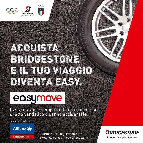 Nuova Golf e-Power, Hybrid-Power, GTI-Power e R-Power - image Bridgestone-e-Allianz_Easymove on http://auto.motori.net
