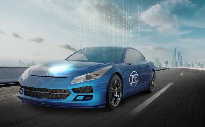 "Perché Nissan dice no al ""tablet"" - image ZF-is-Driving-Vehicle-Intelligence on http://auto.motori.net"