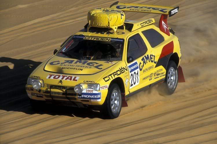 Espressione più avanzata della filosofia Citroen - image ZX-Rally-Raid-1991 on http://auto.motori.net