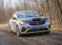 """La Opel Corsa-e Rally elettrica si """"farà sentire!"""""""