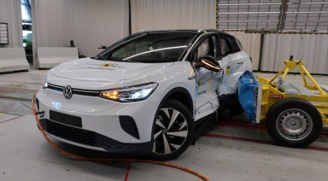 5 stelle Euro NCAP per Enyaq e ID.4