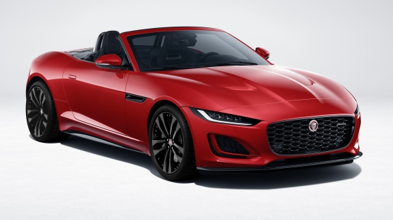 Nuova Golf e-Power, Hybrid-Power, GTI-Power e R-Power - image jag-f-type-22my-p300-r-dynamic-black-convertible-exterior-120421-001 on http://auto.motori.net