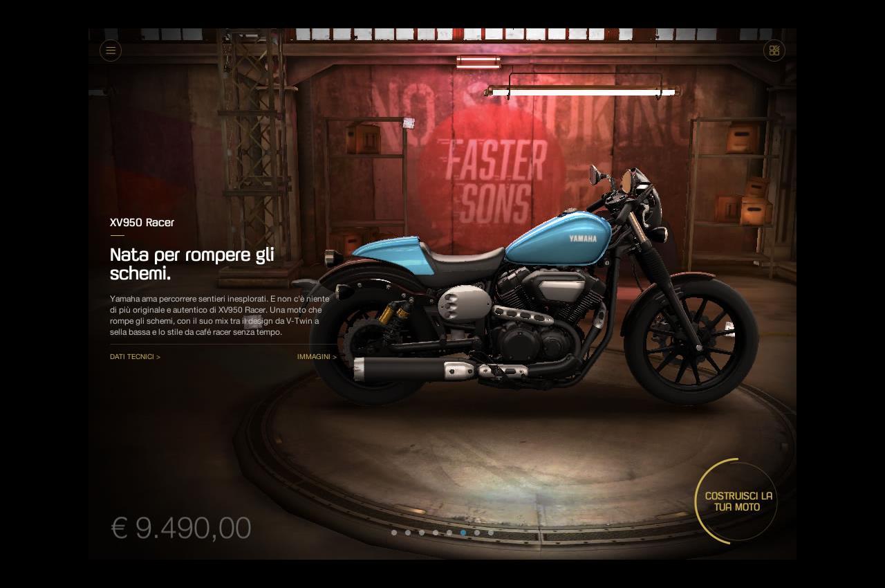 MY GARAGE: L'App Yamaha per creare la propria Special Tre Diapason - image 004352-000052668 on http://moto.motori.net