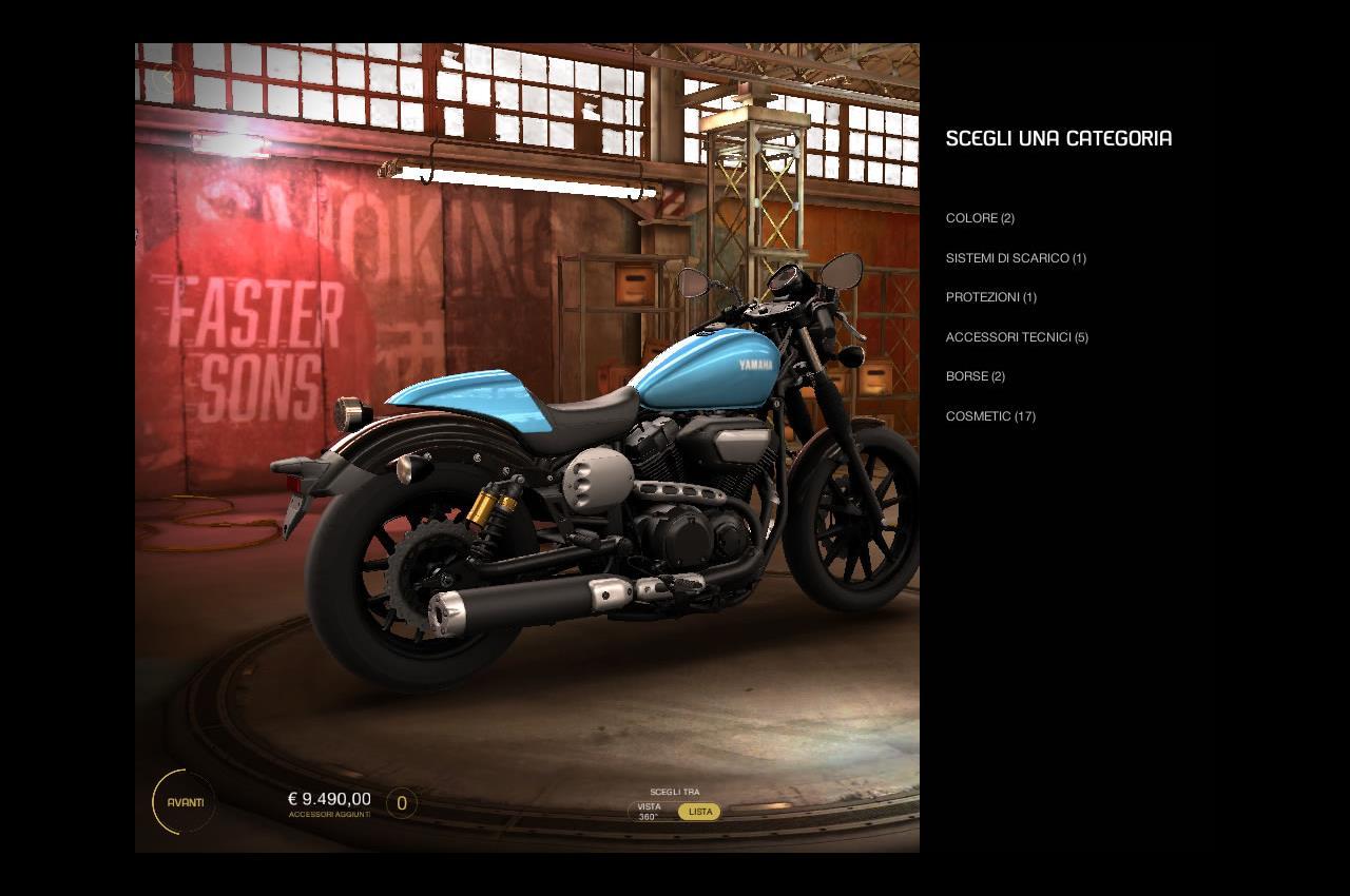 MY GARAGE: L'App Yamaha per creare la propria Special Tre Diapason - image 004352-000052670 on http://moto.motori.net