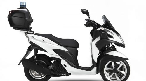 Yamaha Tricity 125 For Police - image 009466-000104012-500x280 on http://moto.motori.net