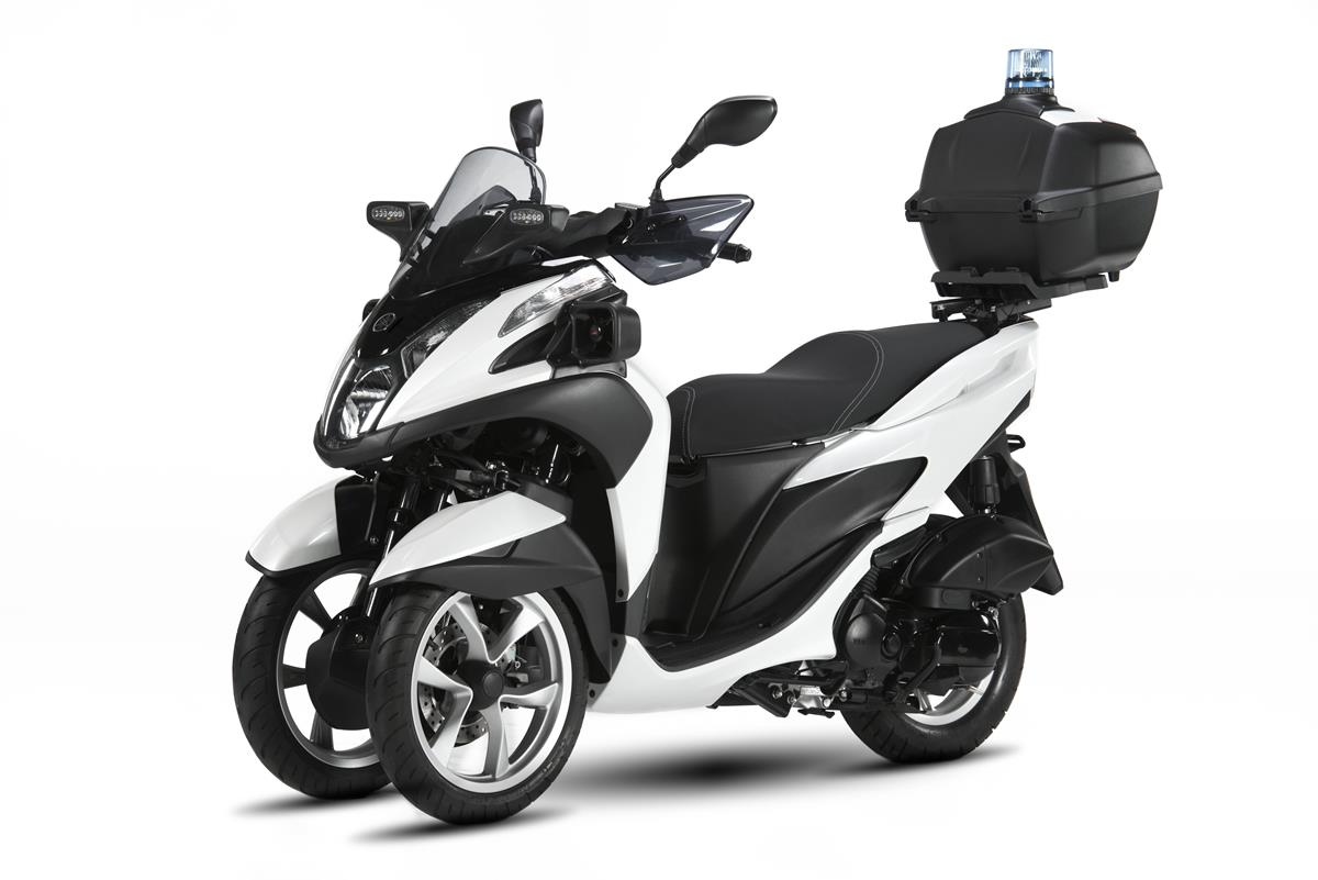 Yamaha Tricity 125 For Police - image 009466-000104016 on http://moto.motori.net