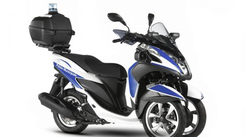 Yamaha Tricity 125 For Police - image 009466-000104017-500x280 on http://moto.motori.net