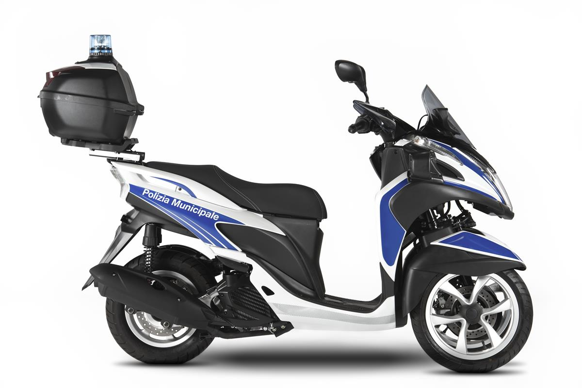 Yamaha Tricity 125 For Police - image 009466-000104018 on http://moto.motori.net
