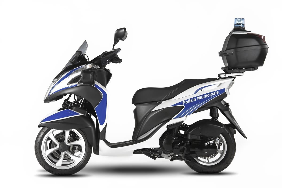 Yamaha Tricity 125 For Police - image 009466-000104021 on http://moto.motori.net