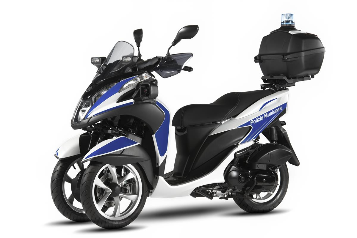 Yamaha Tricity 125 For Police - image 009466-000104022 on http://moto.motori.net
