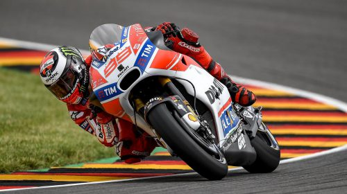 GP di Germania: ottavo Andrea Dovizioso, undicesimo Jorge Lorenzo - image 009552-000104770-500x280 on http://moto.motori.net