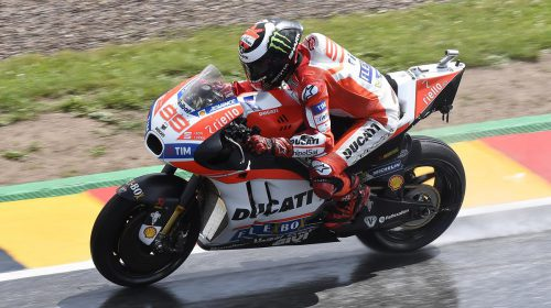 GP di Germania: ottavo Andrea Dovizioso, undicesimo Jorge Lorenzo - image 009552-000104774-500x280 on http://moto.motori.net