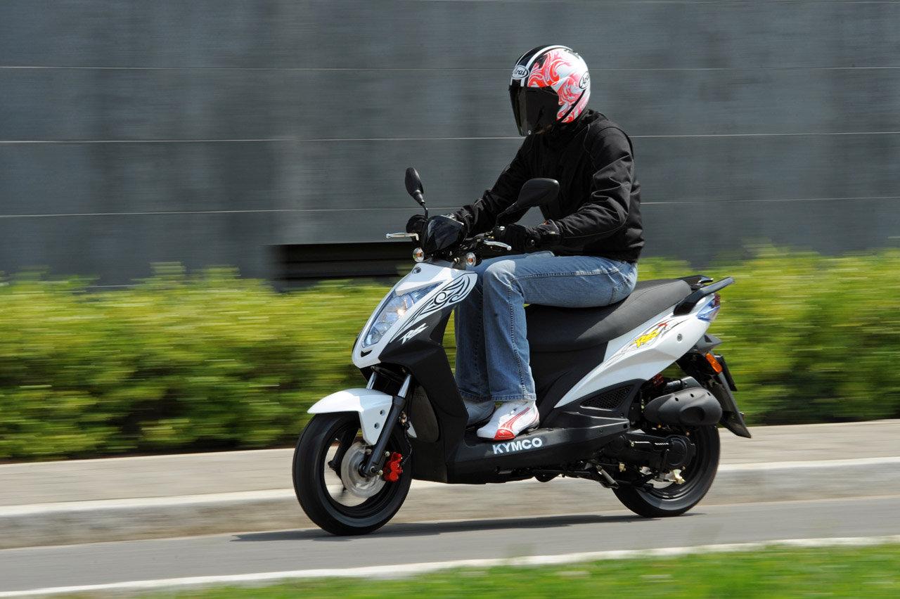 2012 Kymco Agility RS Naked