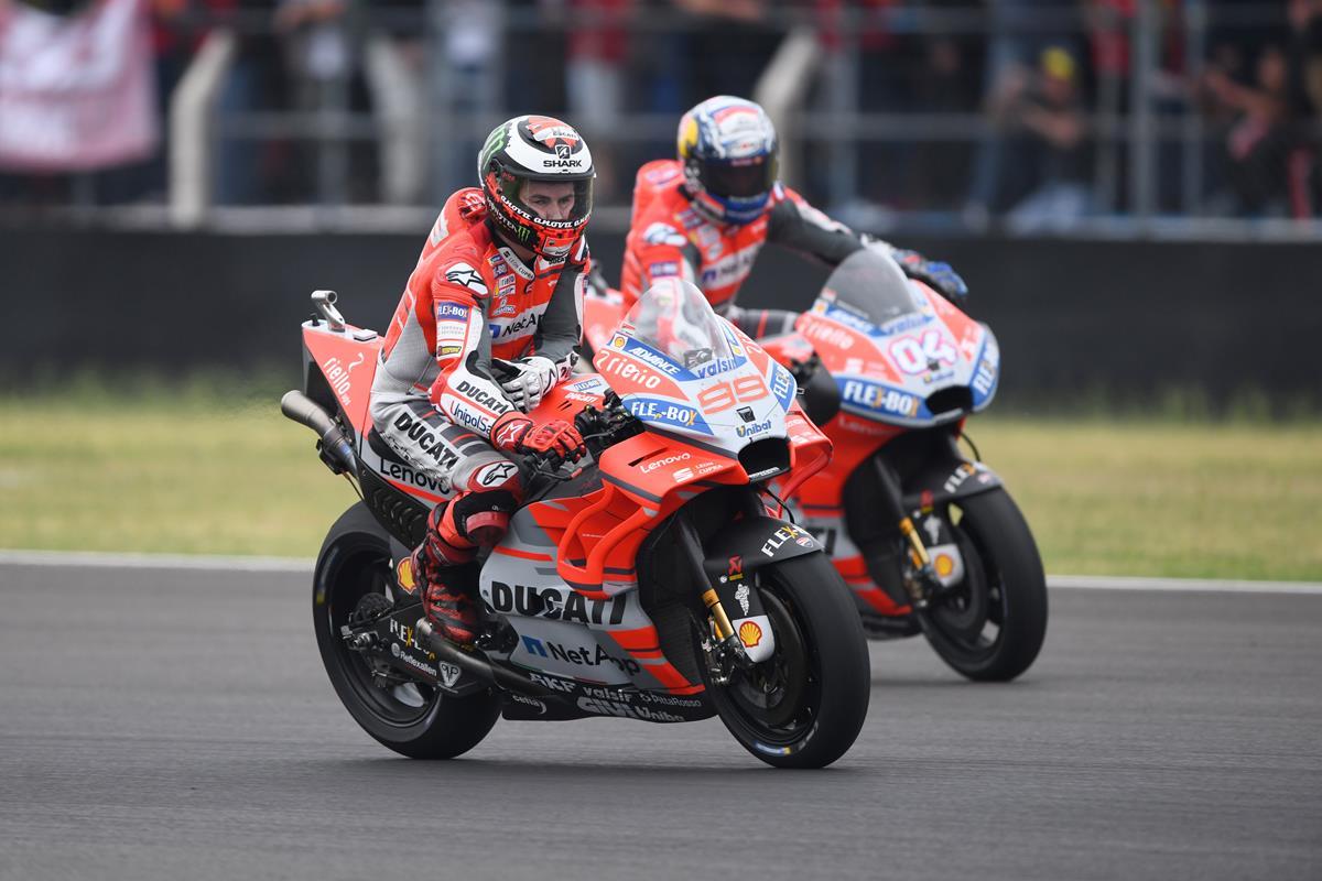Moto GP Argentina: Dovizioso sesto, Lorenzo quindicesimo - image 02-Ducati-Photo on http://moto.motori.net