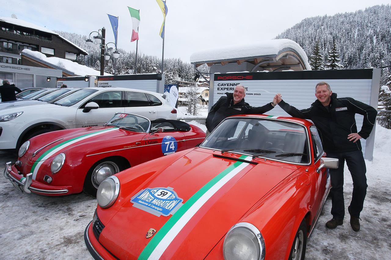 Porsche Italia Classic Team la stagione riparte ancora dalla Winter Marathon - image 003373-000032197 on https://motori.net