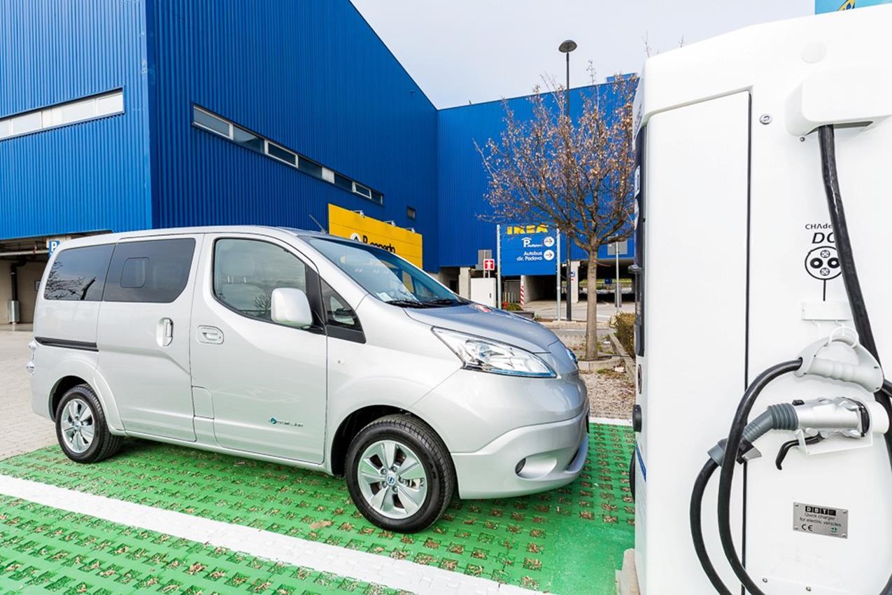 Nissan all'IKEA con la ricarica rapida - image 003659-000035118 on https://motori.net