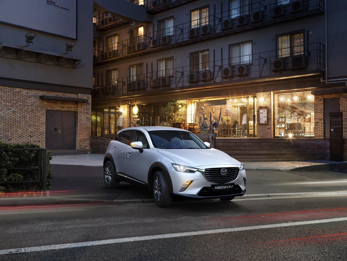 Mazda CX-3 gioca la carta del SUV compatto di classe premium - image 005699-000045755 on https://motori.net