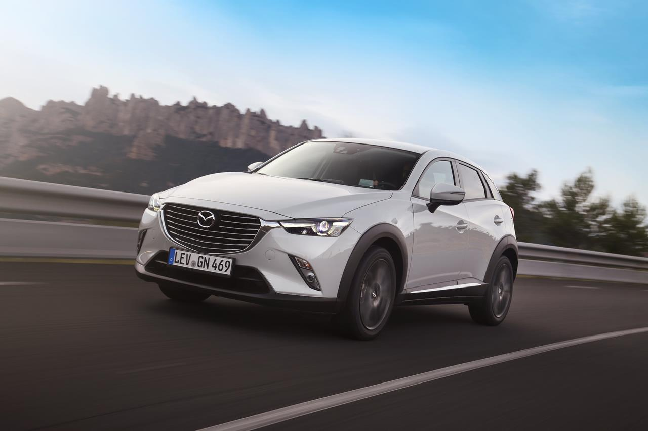 Mazda CX-3: ora anche su Periscope. - image 006001-000047787 on https://motori.net