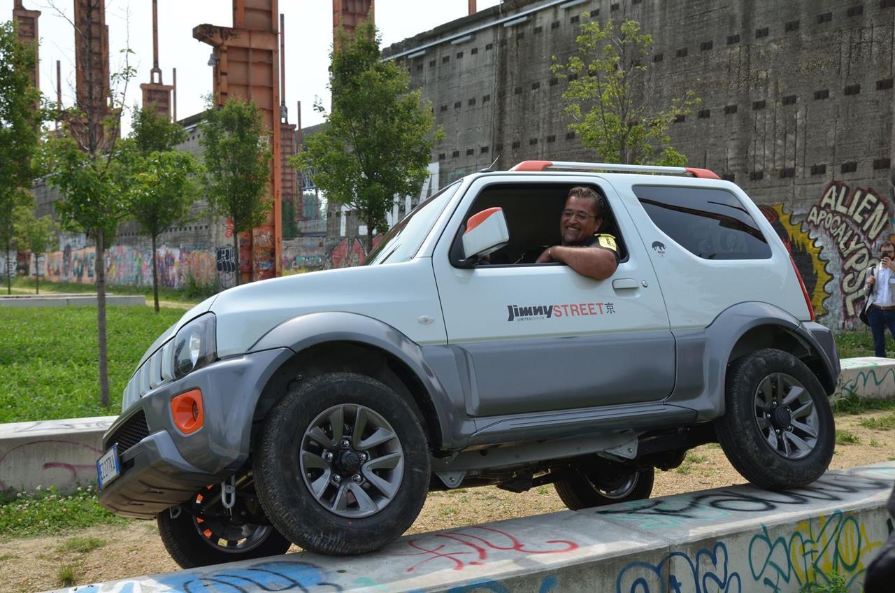 Suzuki Jimny Street: City Life, Jimny Style - image 006022-000047915 on https://motori.net