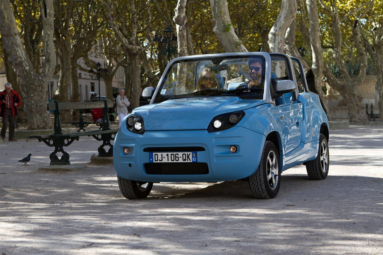 Citroën france distribuira' bluesummer, Cabriolet 4 posti 100% elettrica - image 008113-000068769 on https://motori.net