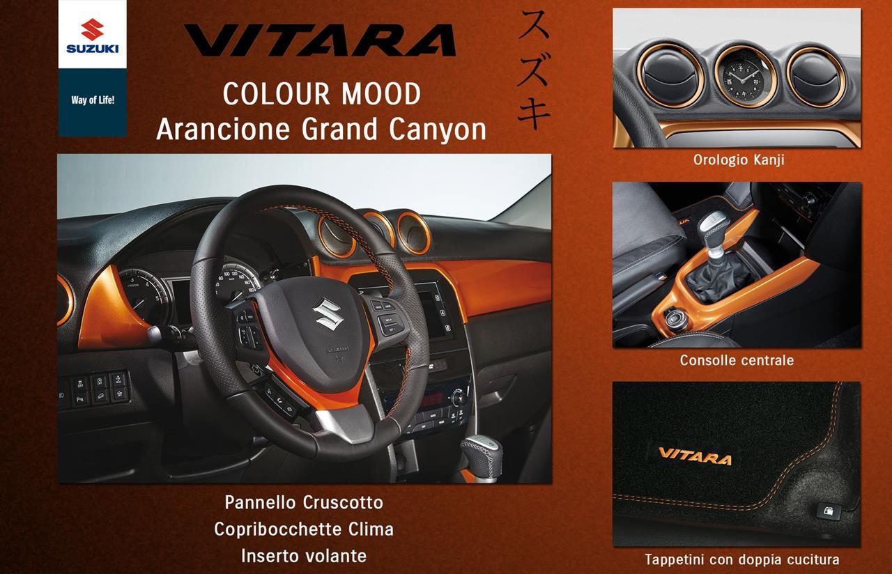 Nuovi Colour Mood Suzuk per VITARA - image 010179-000089131 on https://motori.net