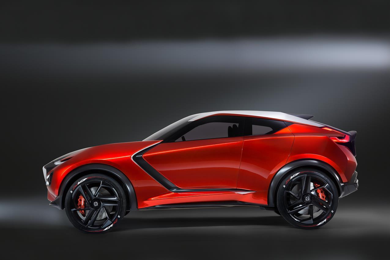Nissan GRIPZ CONCEPT: a Francoforte 2015 - image 012212-000109334 on https://motori.net