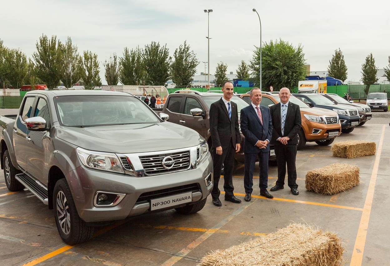 Da Barcellona arriva il nuovo Nissan Navara NP300 - image 012291-000110127 on https://motori.net