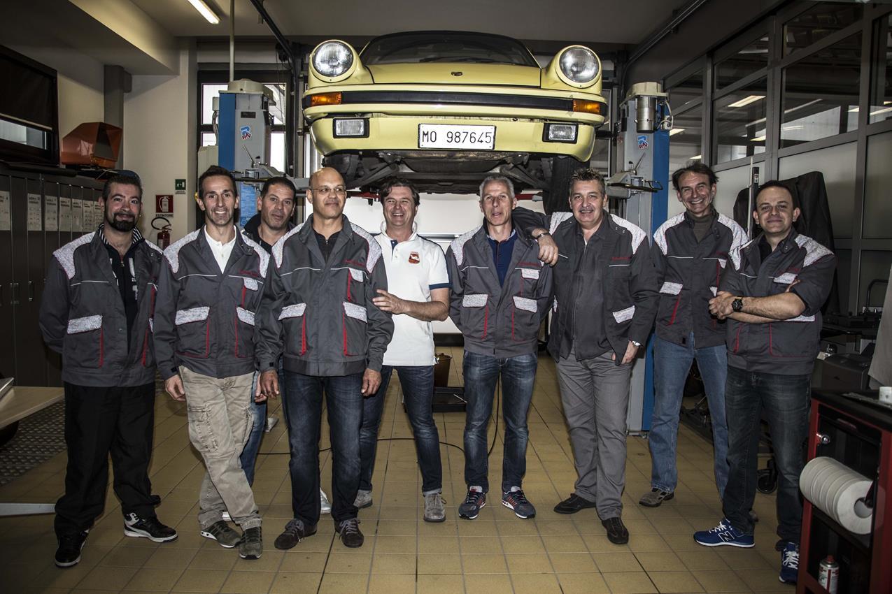 A scuola di Porsche Classic - image 013360-000120704 on https://motori.net