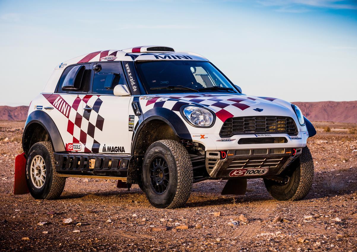 Gli equipaggi delle MINI ALL4 Racing al Rally Dakar 2016 - image 013384-000120838 on https://motori.net