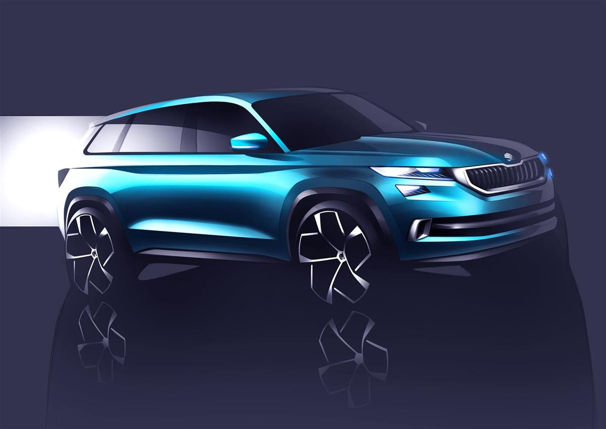 SKODA  Vision S:  première al Salone di  Ginevra per la concept car - image 016563-000151911 on https://motori.net