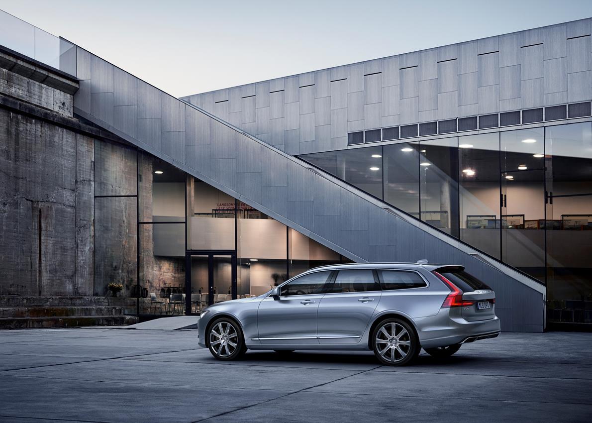 Volvo Cars presenta la nuova V90, una station wagon dalla natura elegante e versatile - image 018591-000172163 on https://motori.net