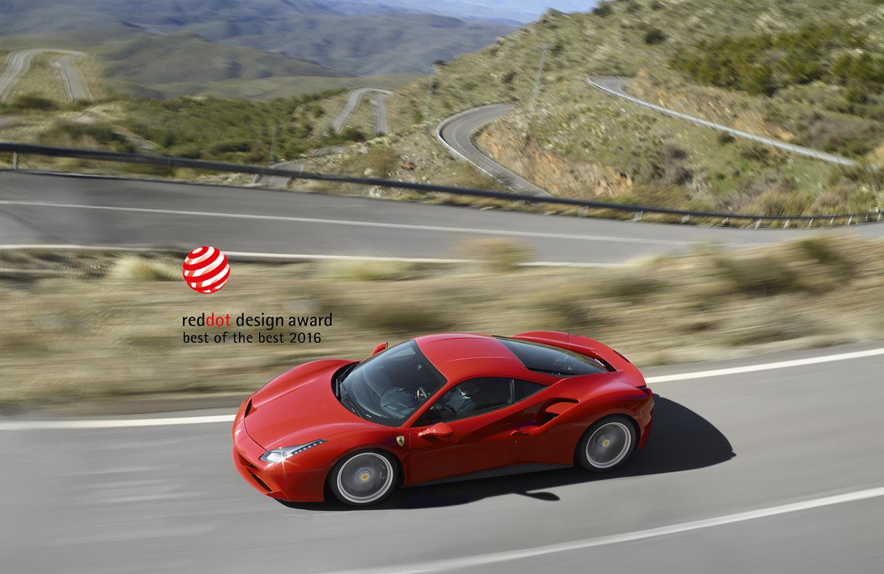 La 488 GTB vince il premio Red Dot - image 020676-000192718 on https://motori.net