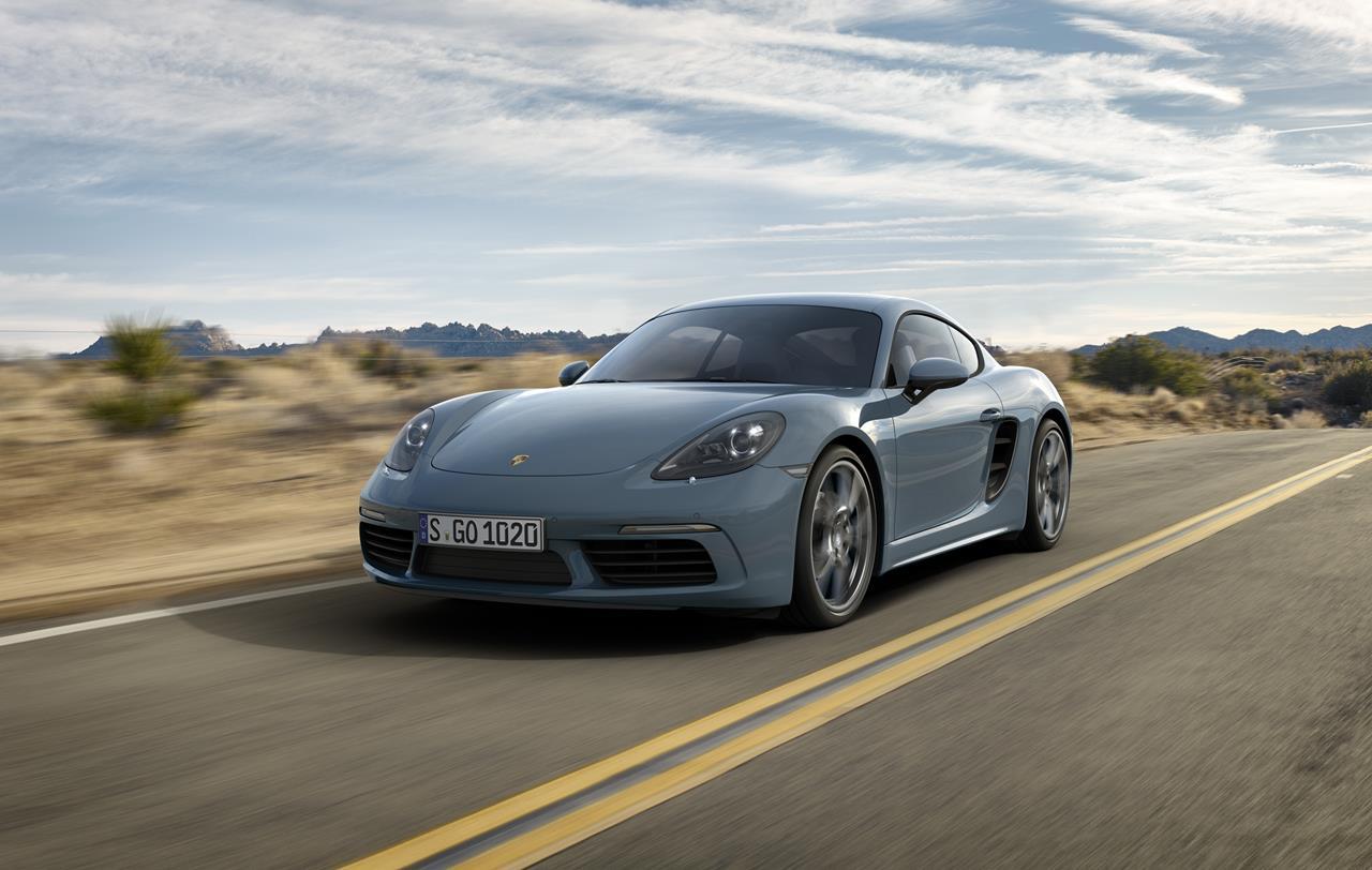Motore turbo a quattro cilindri e maggiore potenza: la nuova Porsche 718 Cayman - image 021721-000203069 on https://motori.net