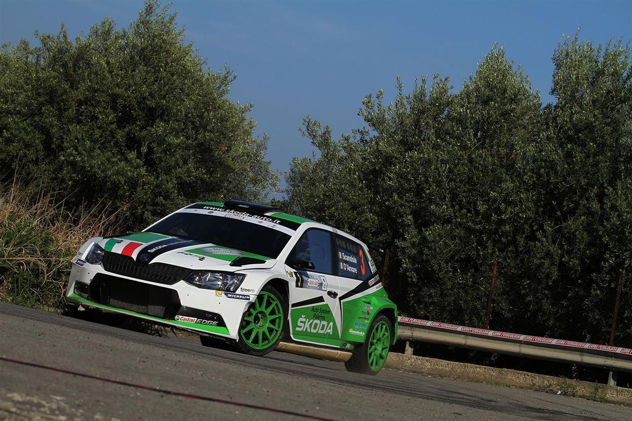 Targa Florio: un podio per la SKODA Fabia R5 di Scandola-D'Amore - image 021756-000203255 on https://motori.net