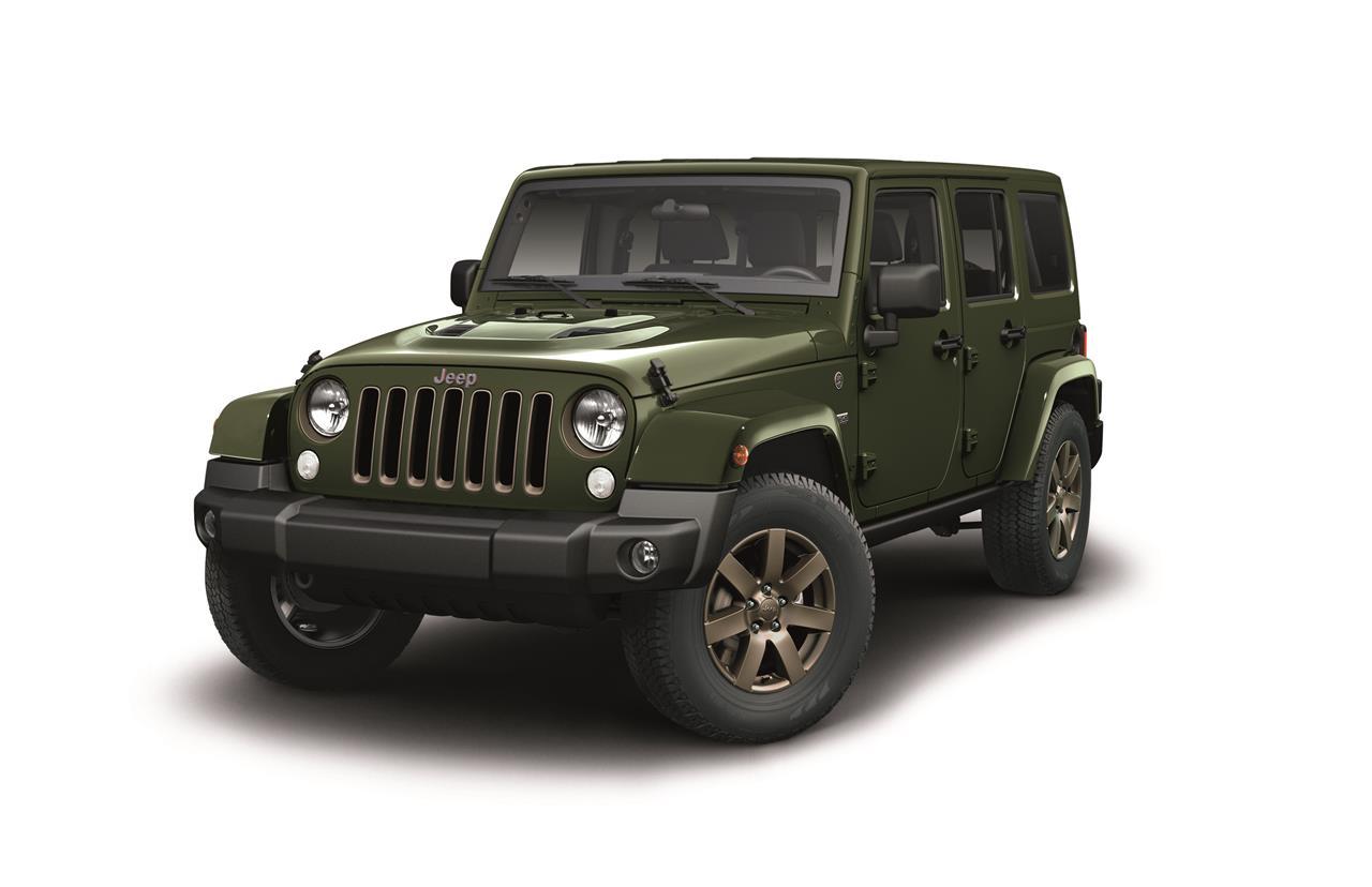 Arriva la nuova Jeep Wrangler 75th Anniversary - image 021831-000203792 on https://motori.net