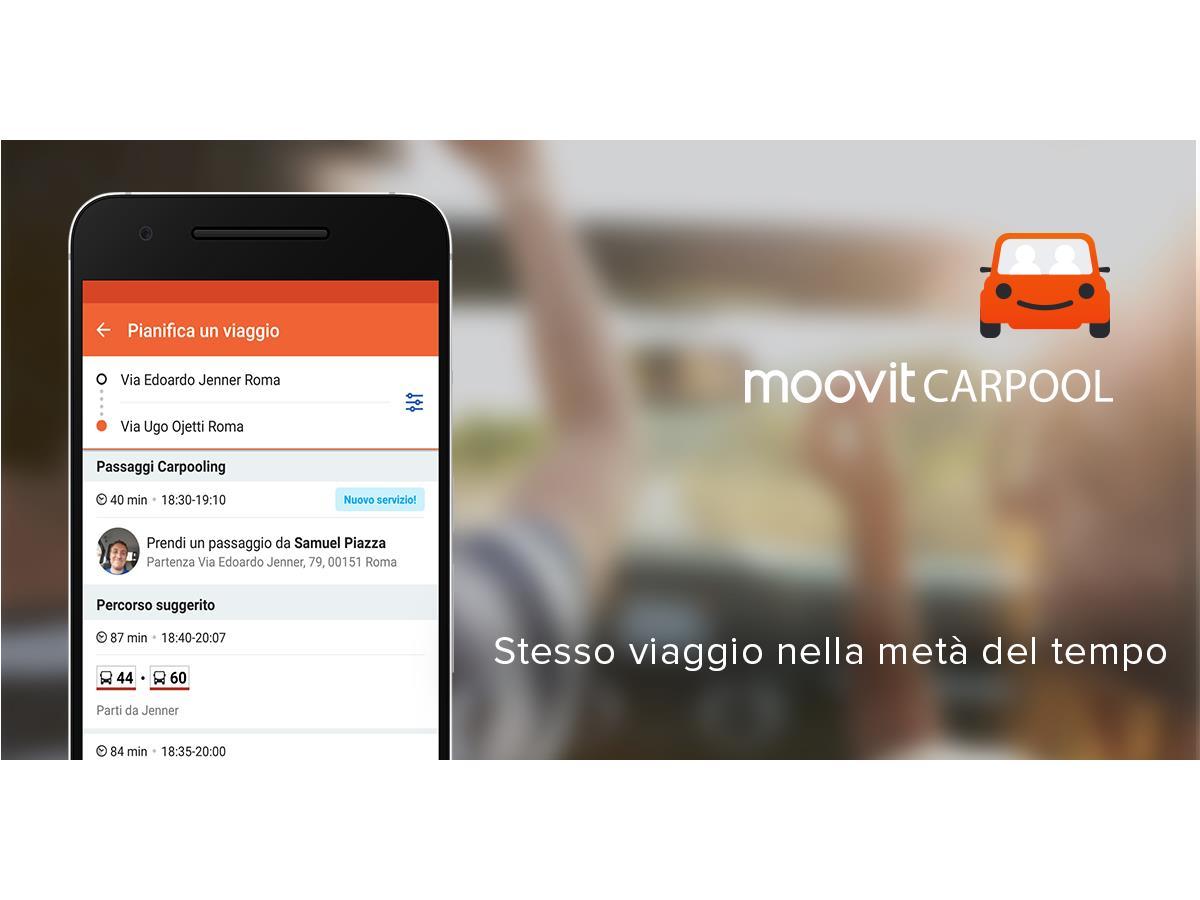 Moovit Carpooling in anteprima mondiale a  Roma - image 022013-000205033 on https://motori.net