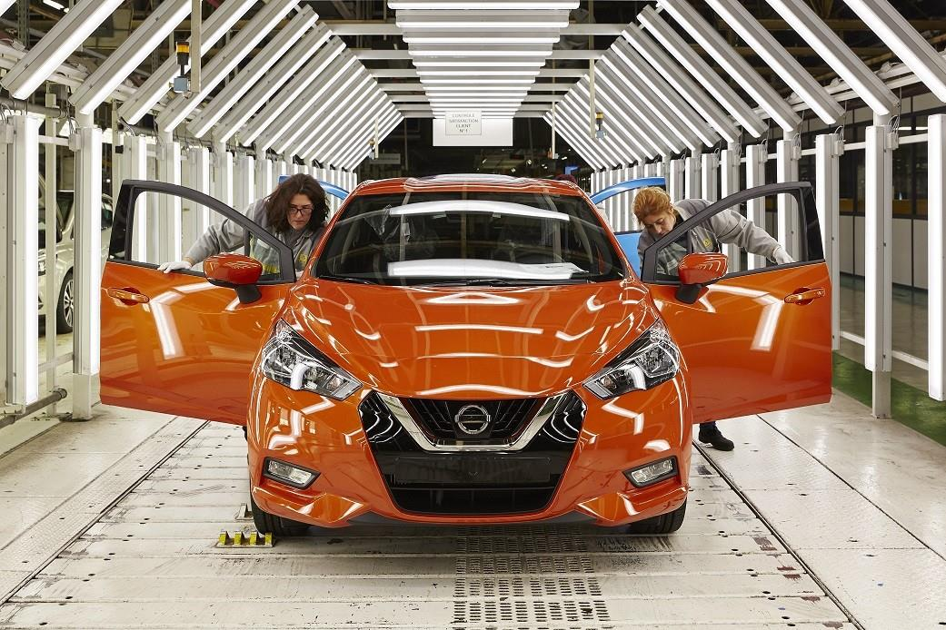 Avvio della produzione della Nuova Nissan Micra - image 022203-000205954 on https://motori.net