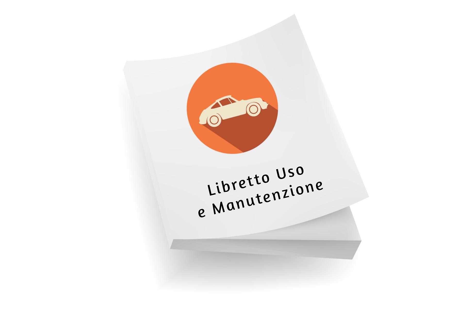 Manuale, Catalogo e Libretto uso e manutenzione XXX
