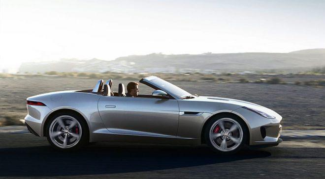 itinerario Jaguar F-Type
