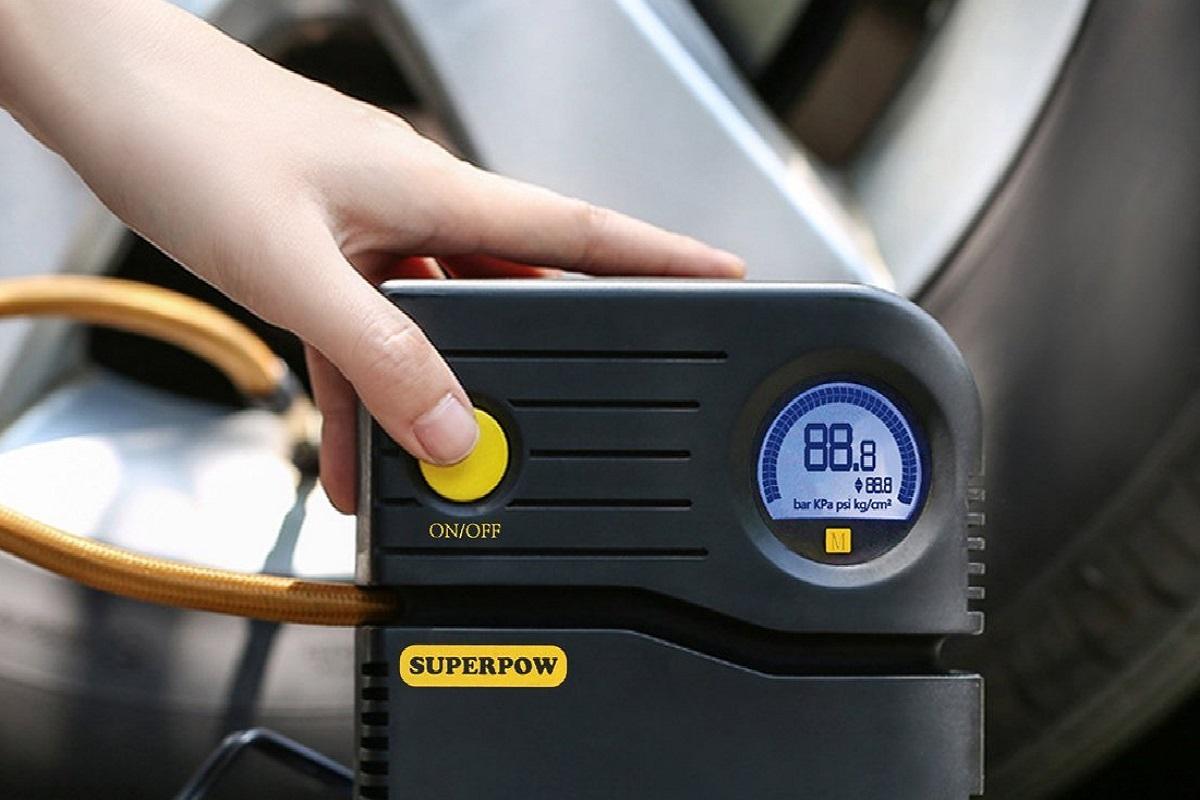 Superpow compressore aria portatile - recensione e prezzo