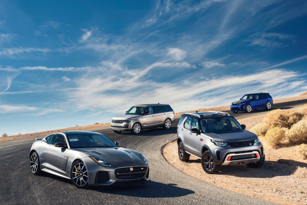 Jaguar Land Rover presenta tre nuove vetture: SVAutobiography, SVX e SVR