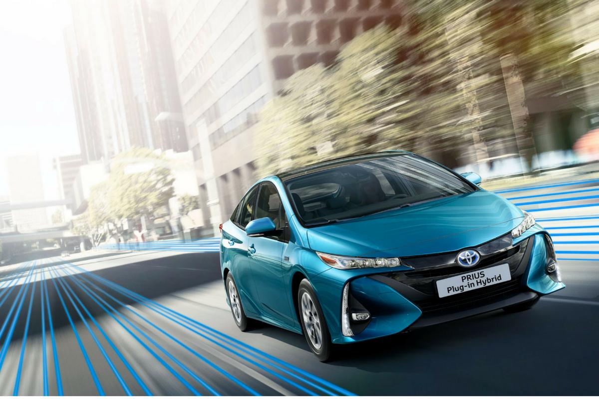 Continua il percorso di elettrificazione del gruppo Toyota