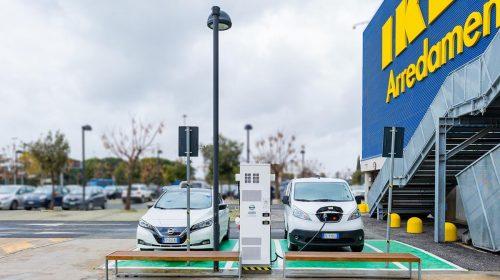 Ad IKEA Anagnina di Roma la ricarica è gratis - image 426224076_Nissan-e-IKEA-accelerano-la-mobilità-elettrica-in-Italia--500x280 on https://motori.net