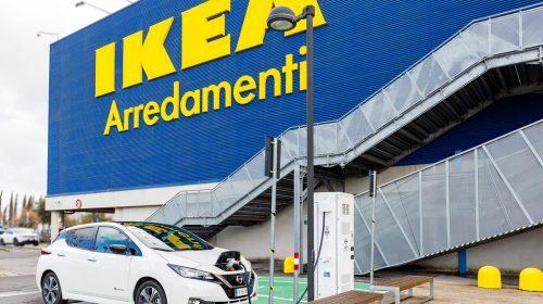 Ad IKEA Anagnina di Roma la ricarica è gratis - image 426224082_Nissan-e-IKEA-accelerano-la-mobilità-elettrica-in-Italia--500x280 on https://motori.net