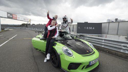 """La nuova 911 GT3 RS sfida l'""""Inferno verde"""" stabilendo un tempo di 6:56.4 minuti - image P18_0413_a4_rgb-500x280 on https://motori.net"""