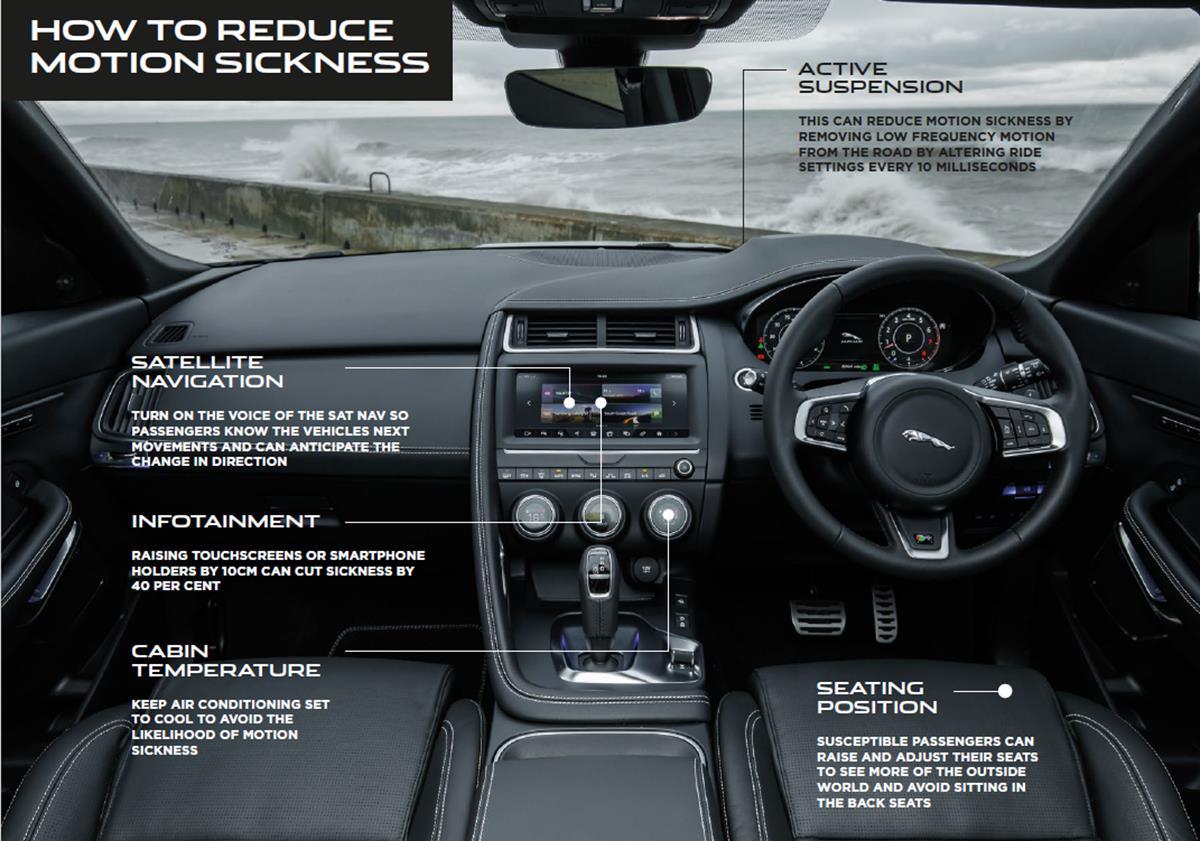Il SUV giusto per completare la grande offensiva di prodotto - image JAGUAR-motionsicknessinfographic on https://motori.net