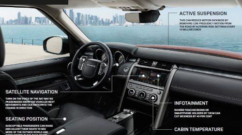 """Jaguar Land Rover contro il """"mal d'auto"""